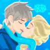 Эльза целует Джека (Elsa Kiss Jack)