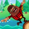 Бег по бревну (Lumber Runner)