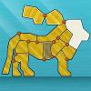 Складные фигурки животных (Shape Fold Animals)
