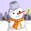 Сделай снеговика (Snowman Dress Up)
