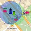 Оборона города на базе Яндекс.Карт